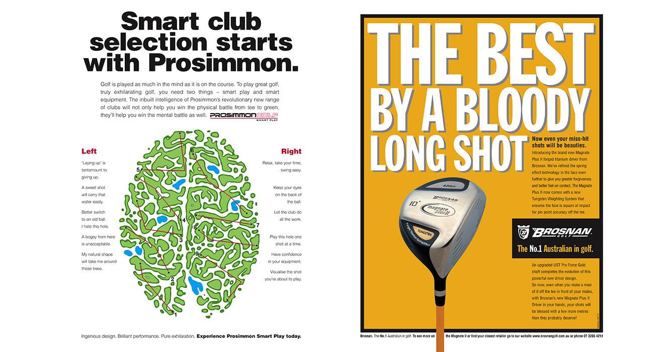 Golf press