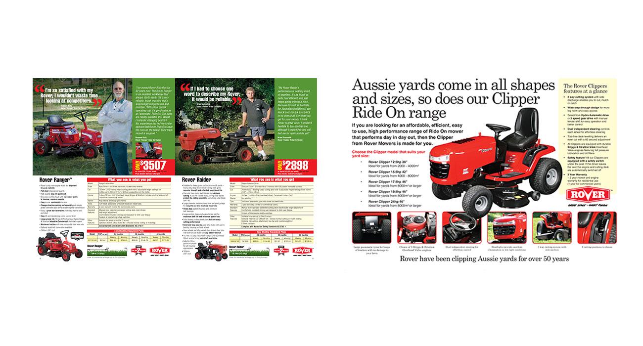 Ride On Mower Brochure