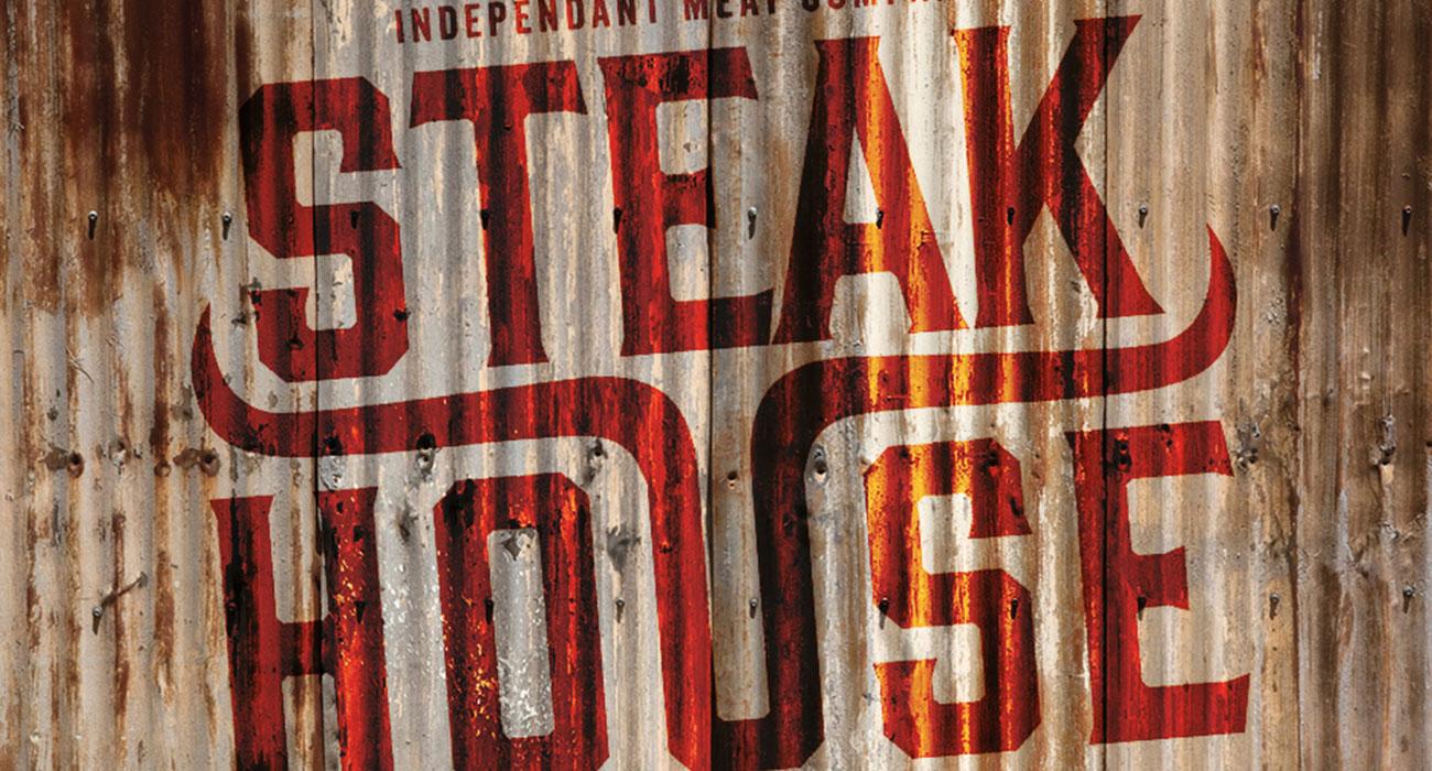 Steakhouse branding