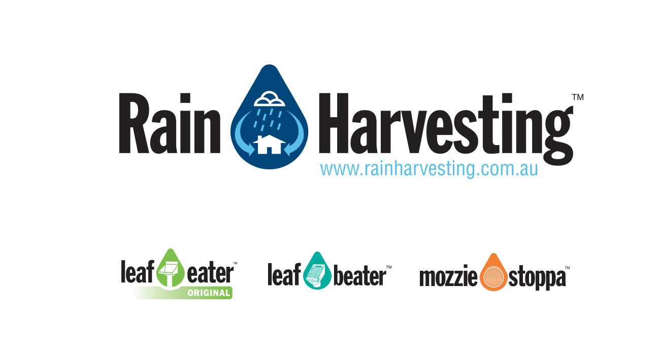 Rain Harvesting branding