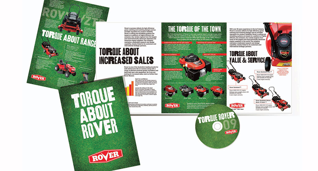 Rover brochures